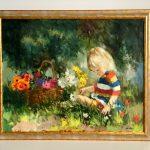 målning 150x150 Inramning